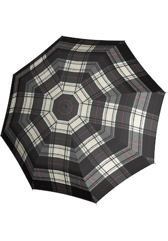Knirps® Taschenregenschirm »T.200 Medium Duomatic, Check Black & White« kaufen