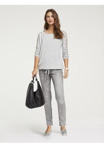 Bauchweg - Jeans Alwa mit Used - Effekt kaufen