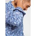 OLYMP Langarmhemd »Level Five body fit«, aus reinem Leinen