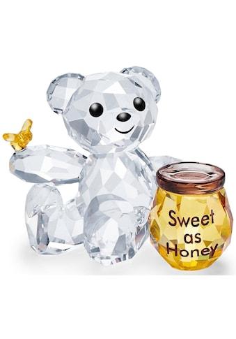 Swarovski Dekofigur »Kris Bär – Süß wie Honig, 5491970«, Swarovski® Kristall mit... kaufen