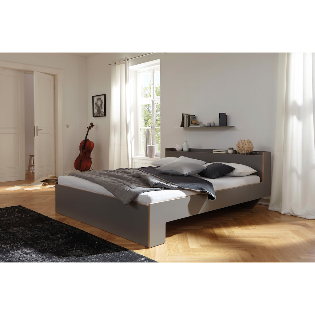Müller SMALL LIVING Bett »NOOK«, in vier Breiten