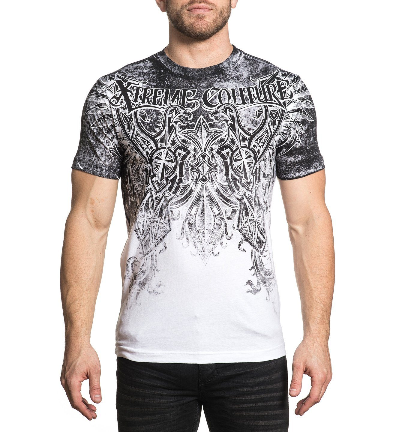 xtreme couture t shirt mit aufregendem muster - Jeans Mit Muster