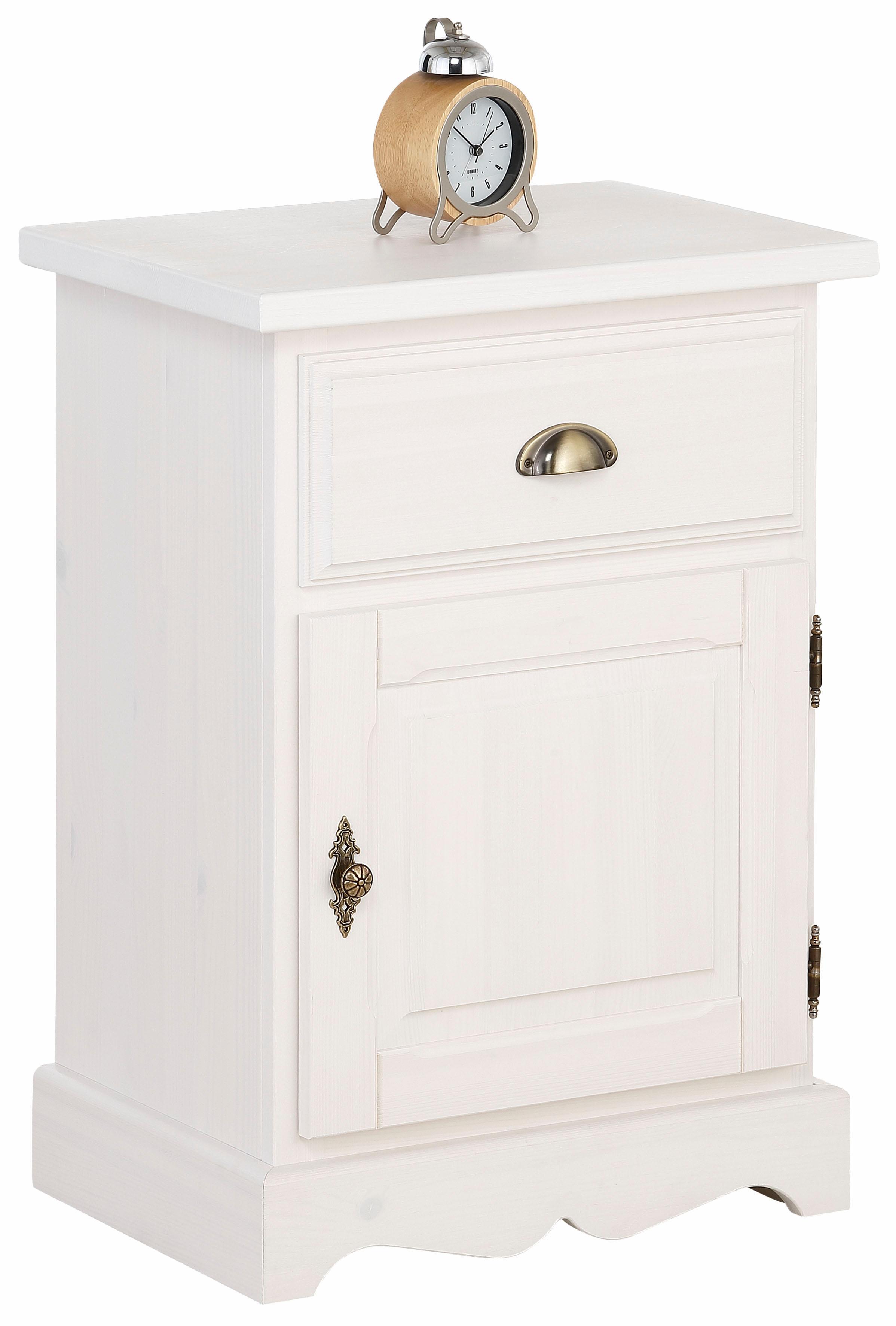 Home affaire Nachttisch Teo mit einer Tür und einer Schublade Breite 50 cm