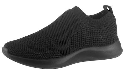 Tamaris Slip-On Sneaker »Fashletics«, im monochromen Look kaufen