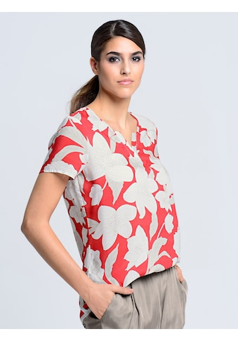 Alba Moda Blusenshirt mit edlem Blumenprint kaufen
