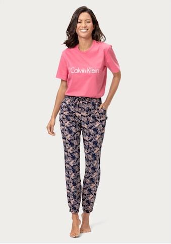 Calvin Klein Relaxhose, mit Musterung und seitlichen Eingrifftaschen kaufen