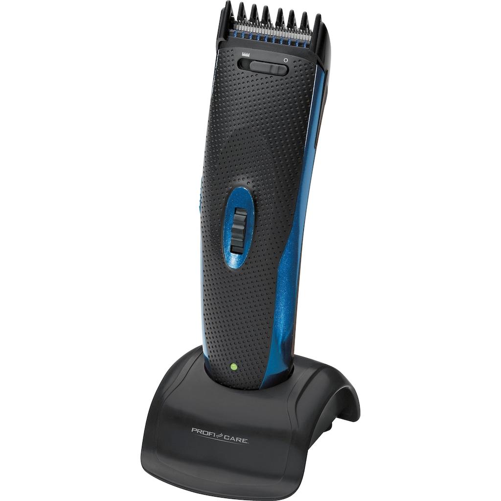 ProfiCare Haar- und Bartschneider »PC-HSM/R 3052«, Edelstahl-Präzisionsscherkopf für gleichmäßigen Haarschnitt & Entfernt lästige Nasen- und Ohrhaare leicht und komfortabel