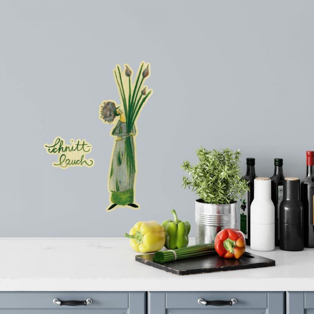 Wall-Art Wandtattoo »Kräuter Küche Schnittlauch Grün«