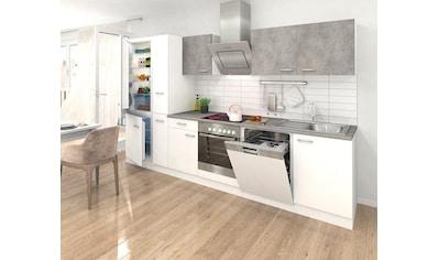 RESPEKTA Küchenzeile, mit E-Geräten, Breite 310 cm kaufen