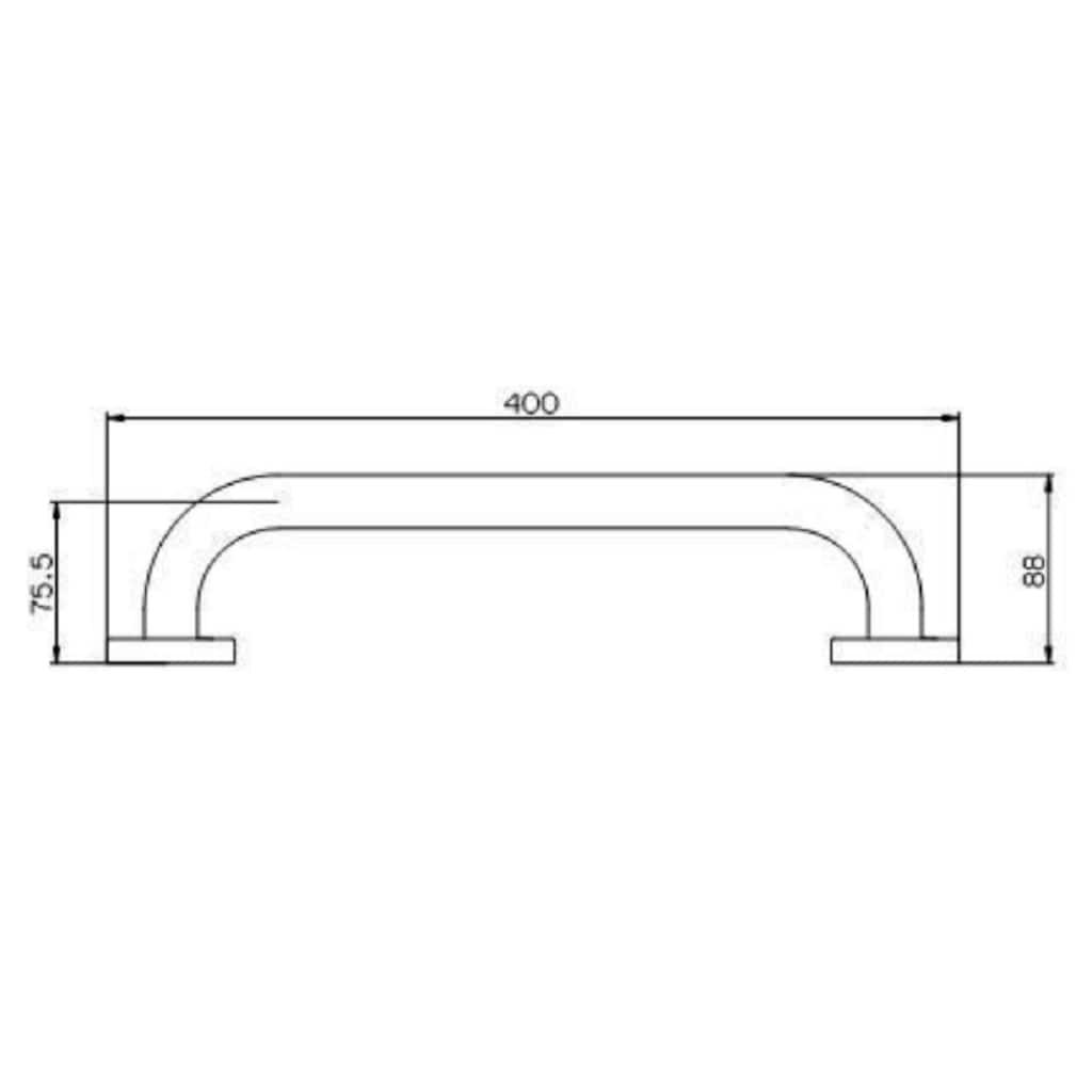 Provex Handtuchhalter »Serie 100«, 400 mm Länge