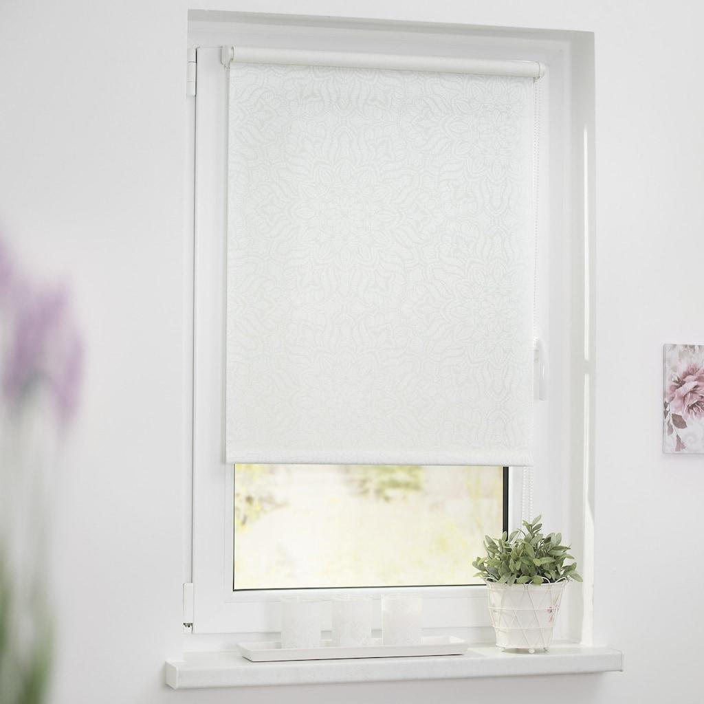 LICHTBLICK ORIGINAL Seitenzugrollo »Klemmfix Dekor Henna«, Lichtschutz, ohne Bohren