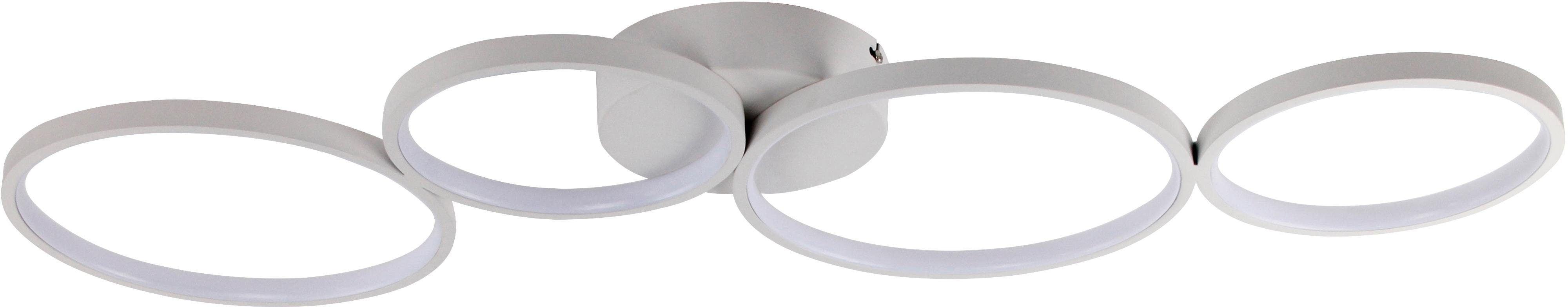 WOFI Deckenleuchte VIKA, LED-Board, Warmweiß, Deckenlampe
