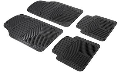 WALSER Auto - Fußmatte »Set Priscus«, 4 - tlg., zuschneidbar, Gummi kaufen