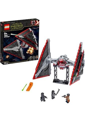 """LEGO® Konstruktionsspielsteine """"Sith TIE Fighter™ (75272), LEGO® Star Wars™"""", (470 - tlg.) kaufen"""