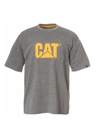 CATERPILLAR T-Shirt »Herren Kurzarm- mit CAT-Logo« kaufen