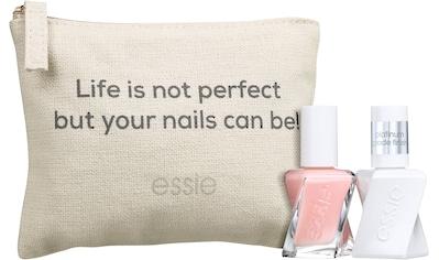 essie Nagellack-Set »Gel Couture Geschenkset Perfekte Maniküre«, (3 tlg.) kaufen