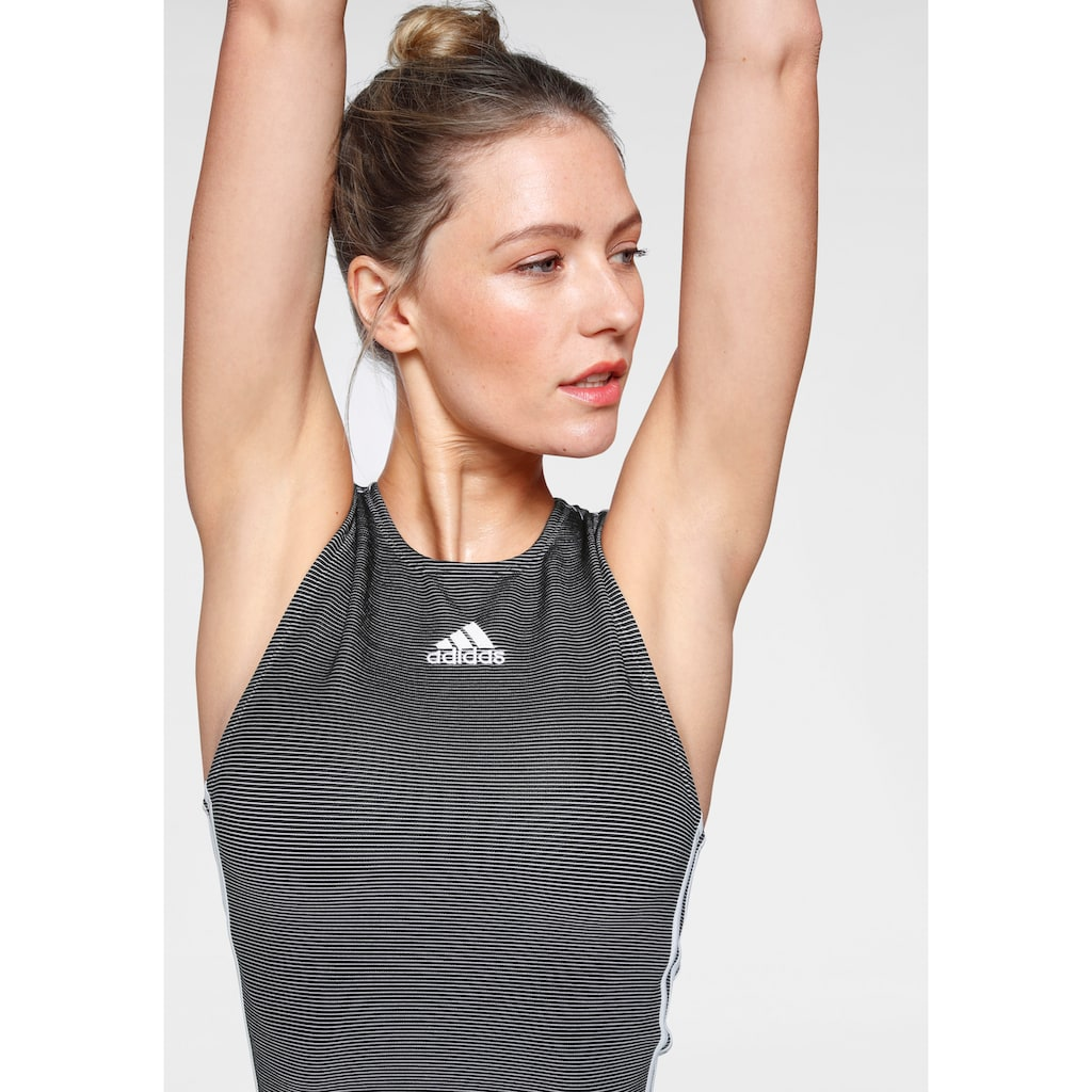 adidas Performance Tanktop »ZIPPABLE RIBBED«