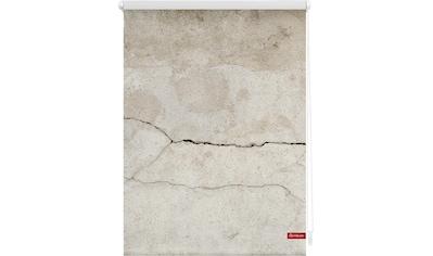 Seitenzugrollo »Klemmfix Motiv Beton«, LICHTBLICK, Lichtschutz, ohne Bohren, freihängend kaufen