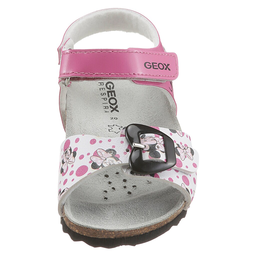 Geox Kids Sandale »B SANDAL CHALKI GIRL«, mit süßem Print