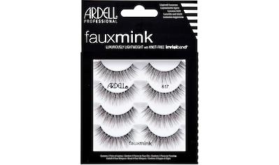 ARDELL Bandwimpern »Faux Mink 817 Multipack«, 4 Paar Bandwimpern aus seidigem Synthetik kaufen