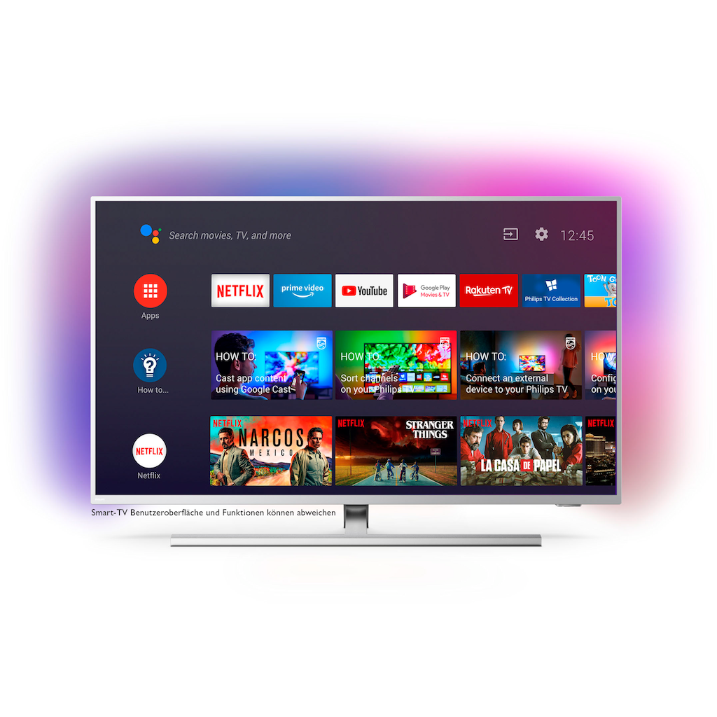 "Philips LED-Fernseher »50PUS8505«, 126 cm/50 "", 4K Ultra HD, Android TV"