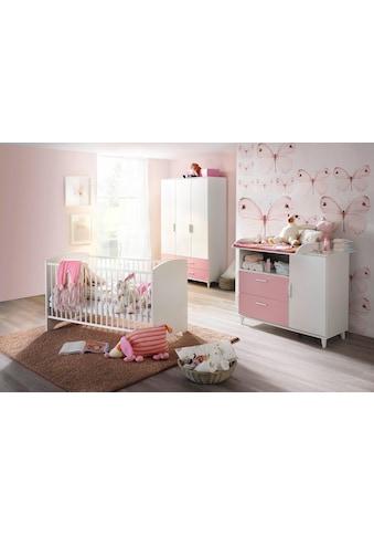 rauch BLUE Babyzimmer-Komplettset »Nizza«, (Set, 3 tlg.), Bett + Wickelkommode + 3 trg. Schrank kaufen