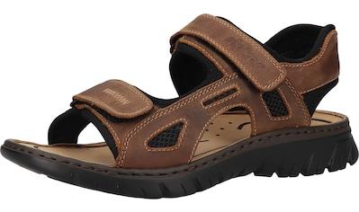 Rieker Sandale »Lederimitat« kaufen