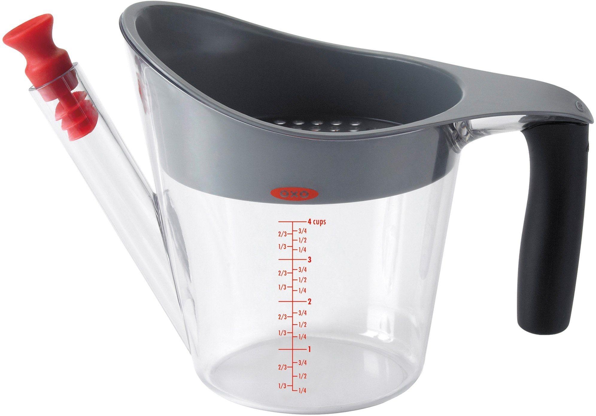 OXO Fetttrennkanne 1 Liter transparent