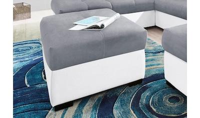 COTTA Polstergarnitur, (Set), Set: bestehend aus 2-Sitzer und Hocker, frei im Raum... kaufen