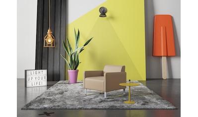 machalke® Sessel »single«, Ledersessel mit Metallkufen kaufen