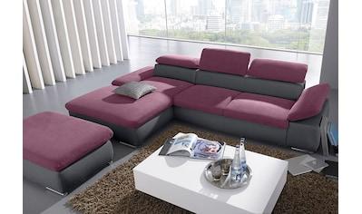 sit&more Ecksofa, mit Recamiere, wahlweise mit Bettfunktion kaufen