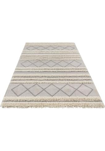 freundin Home Collection Teppich »Safi«, rechteckig, 35 mm Höhe, In- und Outdoor geeignet, Wohnzimmer kaufen