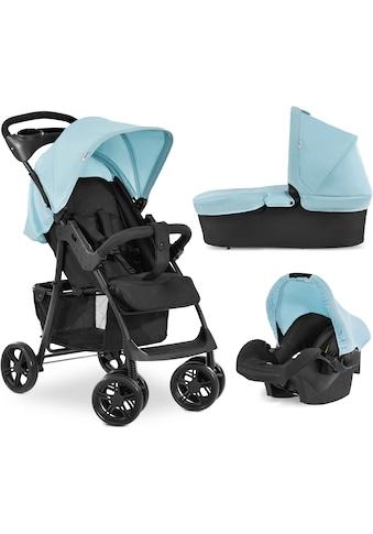 Hauck Kombi-Kinderwagen »Shopper Trioset«, 22 kg, mit Babywanne und Babyschale;... kaufen