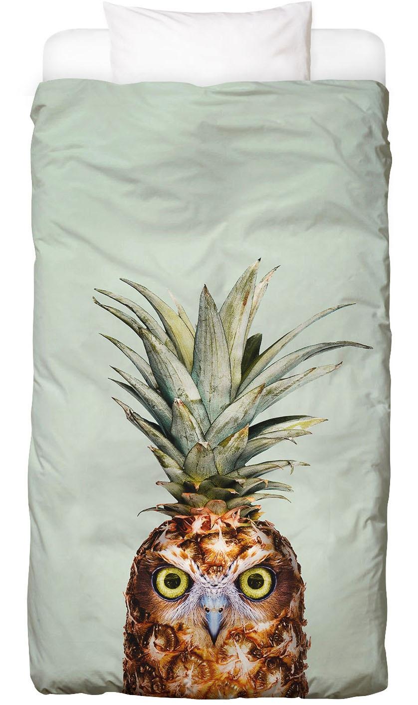 Bettwäsche Pineapple Owl Juniqe