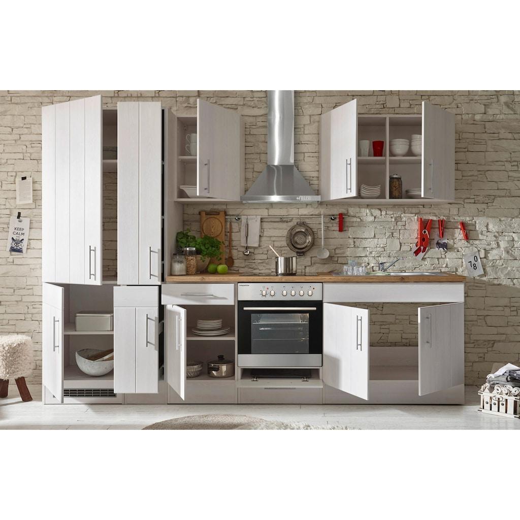 RESPEKTA Küchenzeile »Ulm«, mit E-Geräten, Breite 300 cm