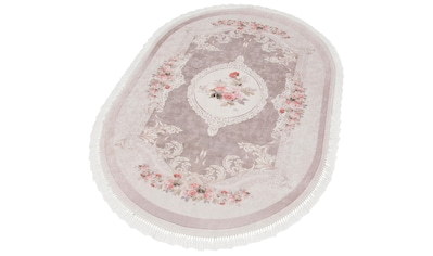 Teppich, »Sunshine 1055«, merinos, oval, Höhe 3 mm, gedruckt kaufen