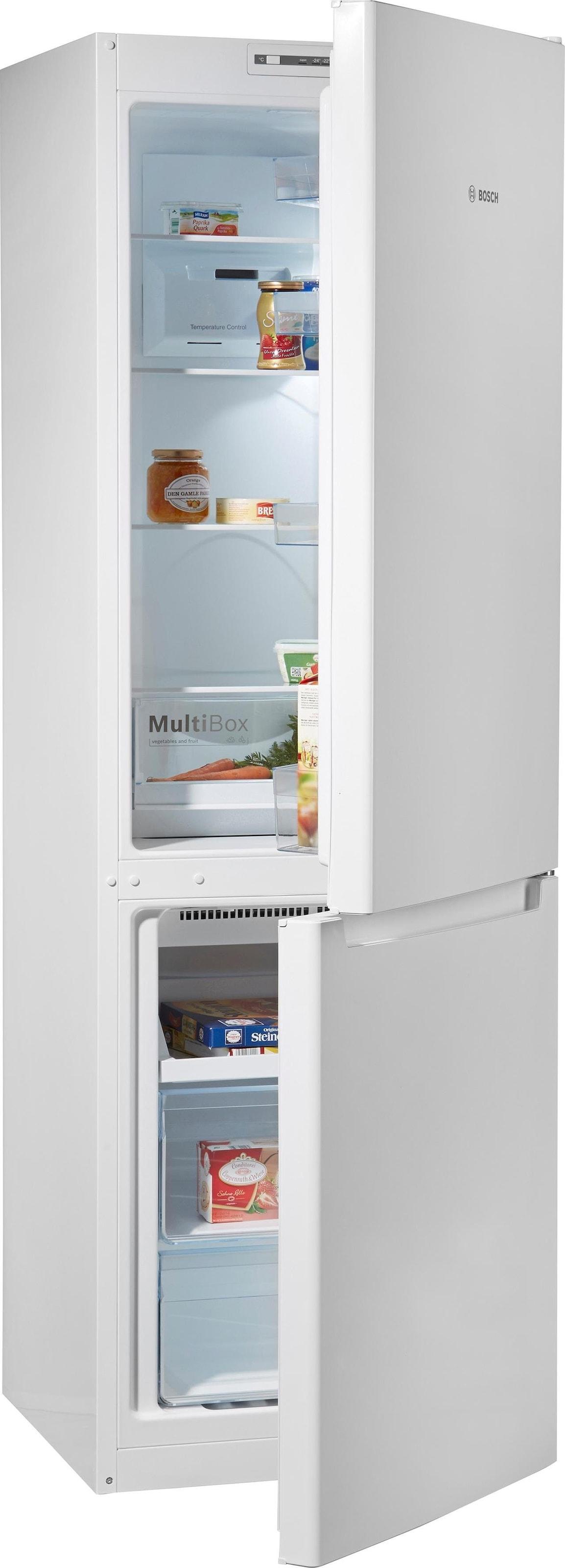 Bosch Kühlschrank Gefrierkombination : Bosch kühl gefrierkombination cm hoch cm breit auf raten