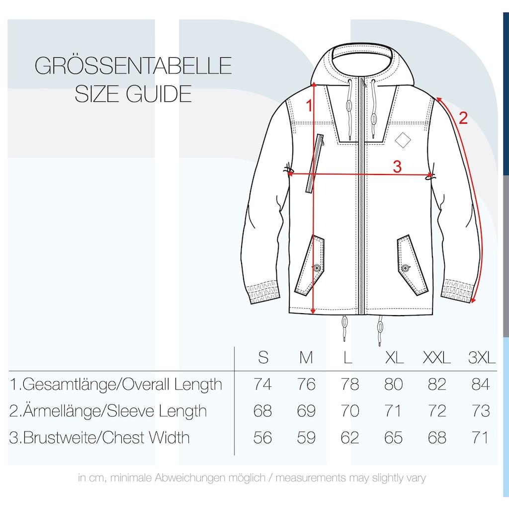 Solid Kurzjacke »Tilden«, Übergangsjacke mit kontrastfarbenen Reißverschlüssen
