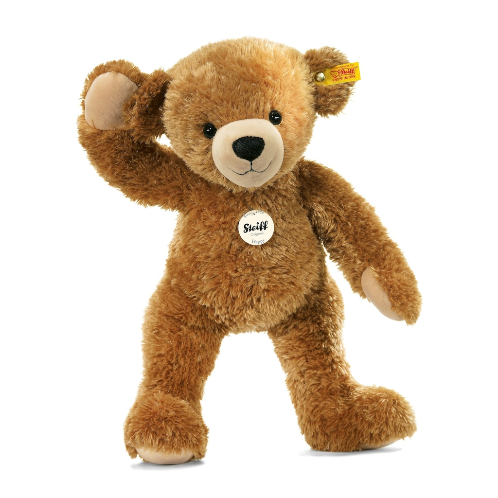 Steiff Kuscheltier »Happy Teddybär, braun, 28 cm«