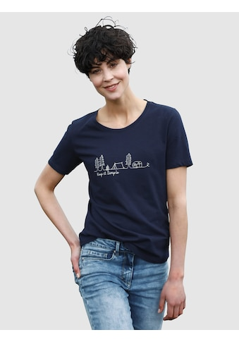 Dress In T-Shirt, mit Frontprint kaufen