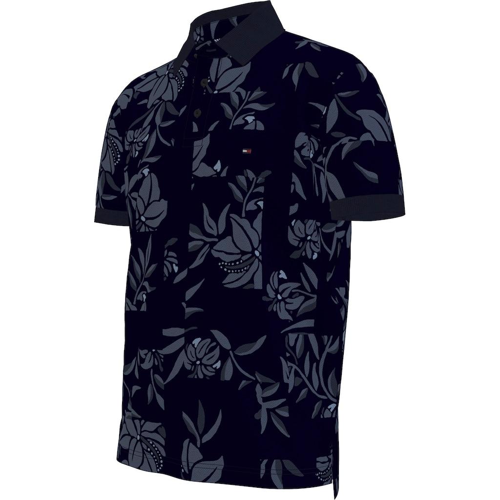 TOMMY HILFIGER Poloshirt »PATCHWORK FLOWER PRINT REG POLO«
