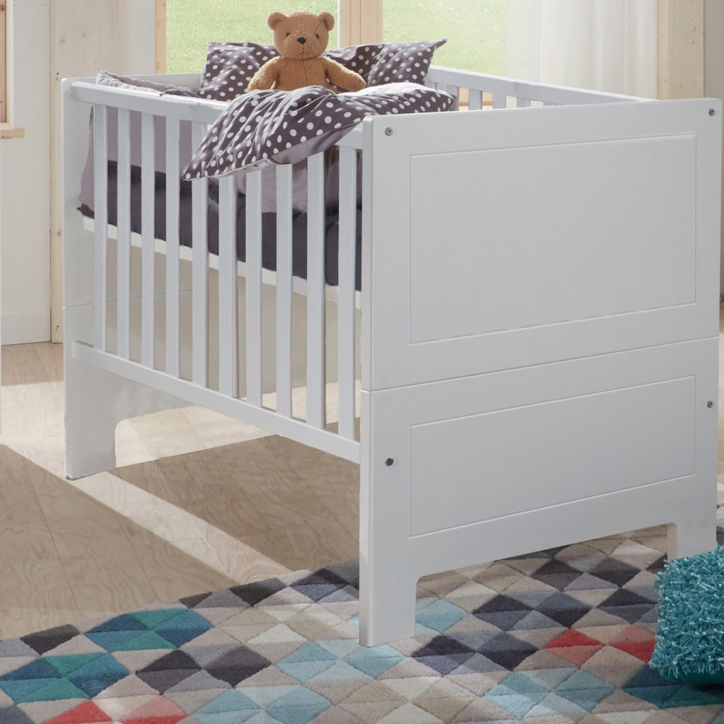 arthur berndt Babymöbel-Set »Thilo«, (Spar-Set, 2 St.), mit Kinderbett und Wickelkommode; Made in Germany