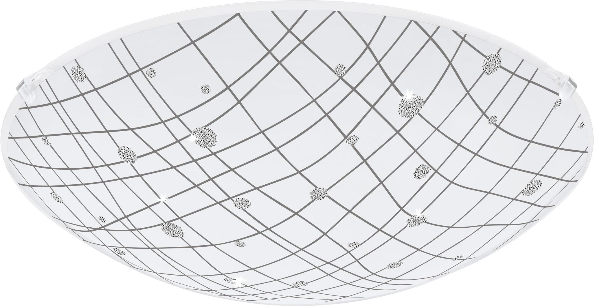 EGLO Deckenleuchte VEREDA, LED-Board, Warmweiß, LED tauschbar