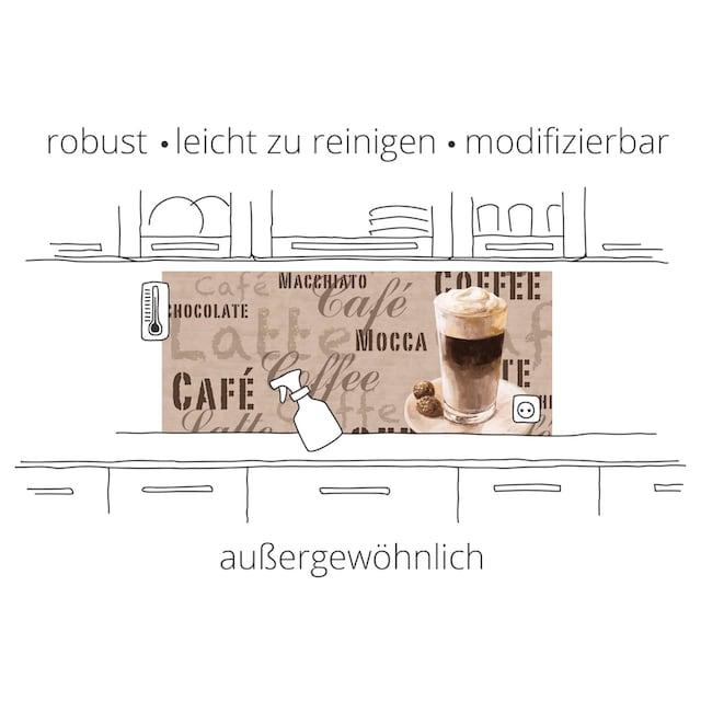 """Artland Küchenrückwand """"Mediterranes und italienisches Essen"""", (1-tlg.)"""