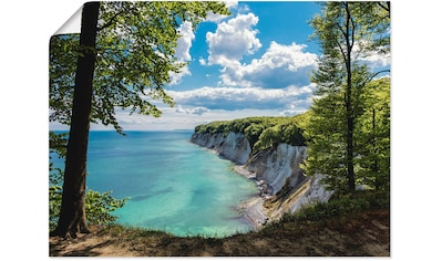 Artland Wandbild »Ostseeküste auf der Insel Rügen.«, Küste, (1 St.), in vielen Größen... kaufen