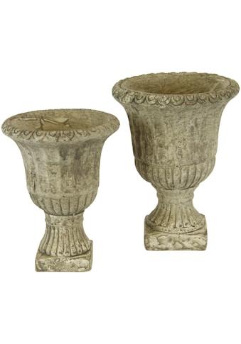 I.GE.A. Übertopf »Antik - Keramikpokal« (Set, 2 Stück) kaufen