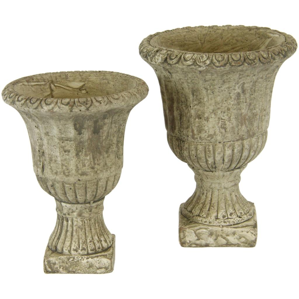 I.GE.A. Übertopf »Antik-Keramikpokal«