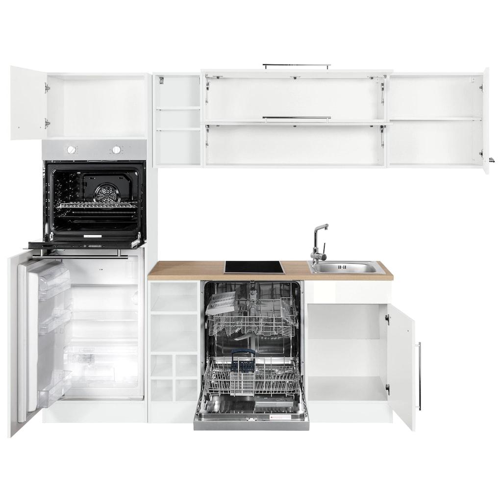 HELD MÖBEL Winkelküche »Eton«, ohne E-Geräte, Stellbreite 260 x 190 cm