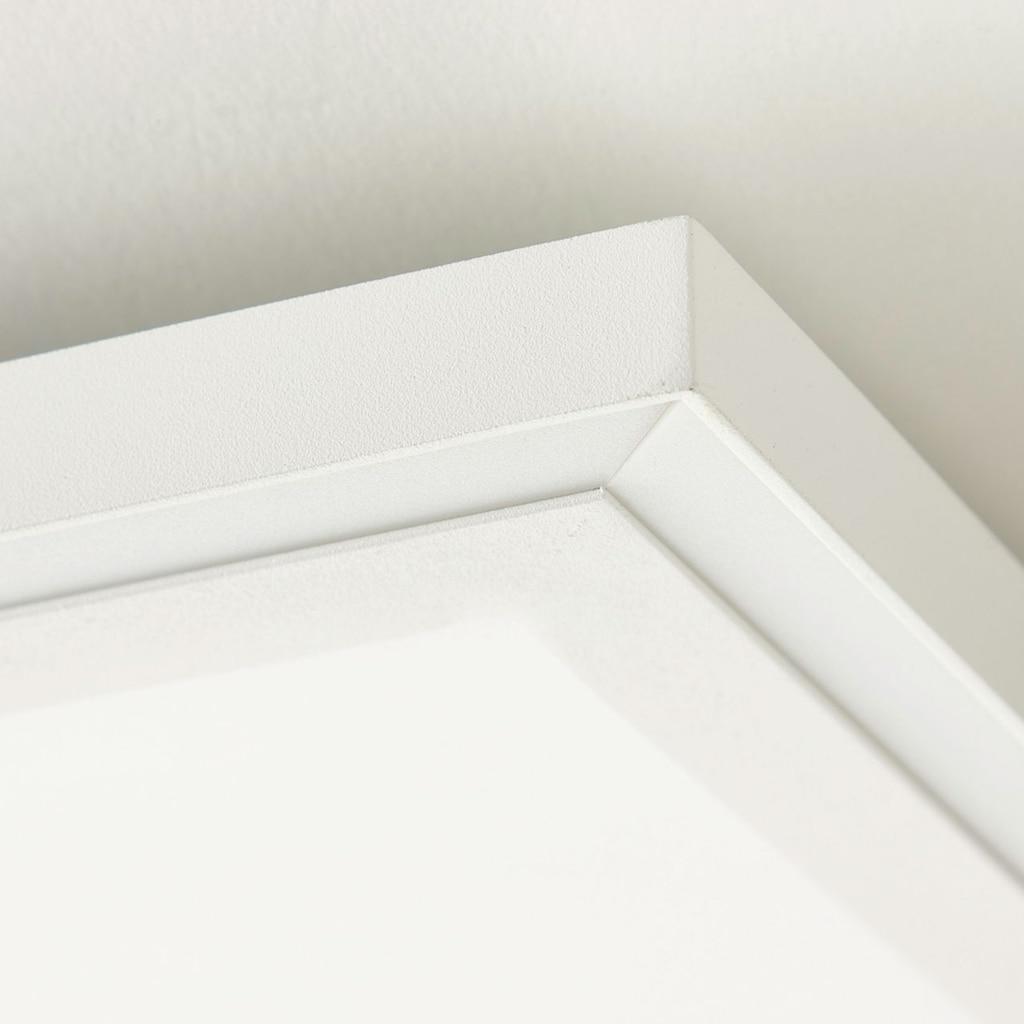 Brilliant Leuchten Lanette LED Deckenaufbau-Paneel 60x60cm weiß