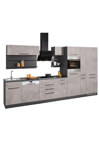 HELD MÖBEL Küchenzeile »Tulsa«, mit E - Geräten, Breite 360 cm kaufen